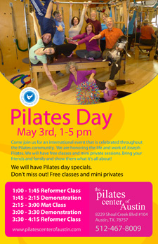 Pilates Day 2014 Come To Your Pilates Day Headquarters At