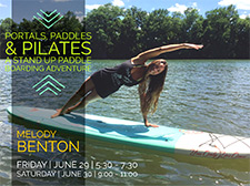 Portals, Paddles & Pilates: A Stand Up Paddle Boarding Adventure